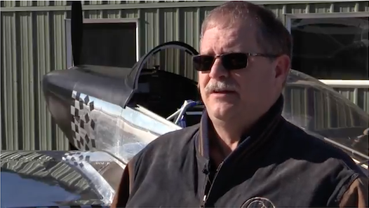 Burke Wick and his RV-8